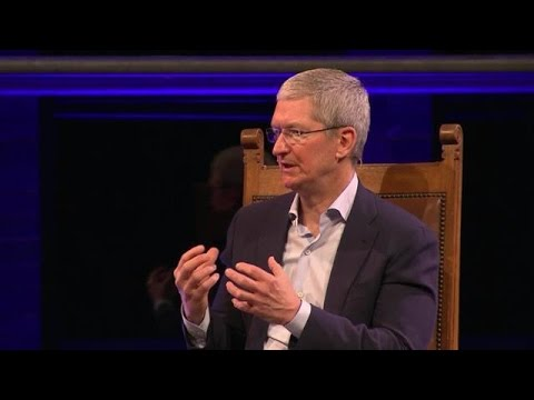 Apple CEO Tim Cook interview at Startup Fest Europe [24.05.16]