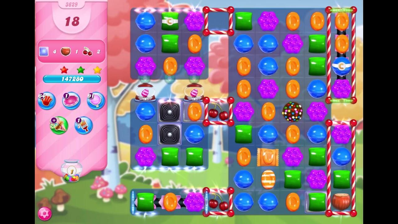 Candy Crush Saga - Level 3629 Difficult