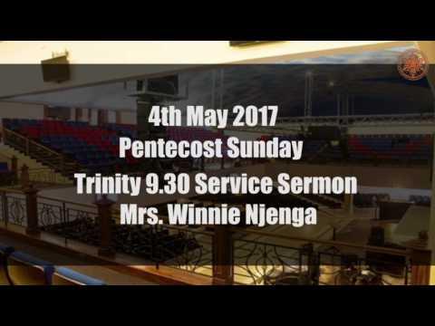 Pentecost Sunday Sermon - Mrs Winnie Njenga