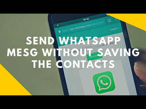 Send WhatsApp Message Without saving the contact [Without Any Apps]