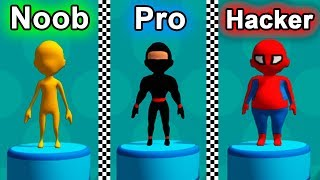 NOOB vs PRO vs HACKER - Fun Race 3D / Games for Kids