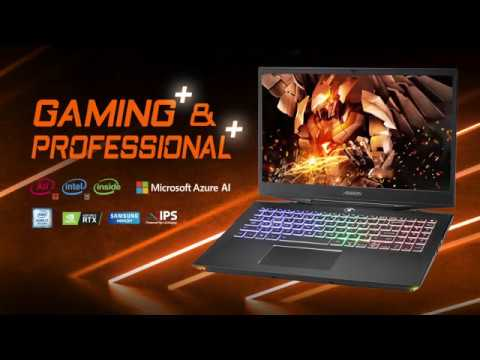 Aorus 15-X9-FHD70 RTX 20 Series Gaming Laptop - Video