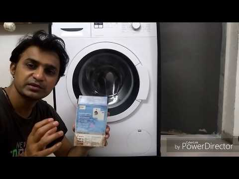 Cleaning front or top loaded washing machine by  Descaler Powder, washing machine drum cleaner