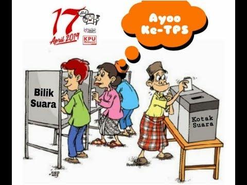 Mekanisme Memilih di TPS  pada Pemilu Serentak 2019