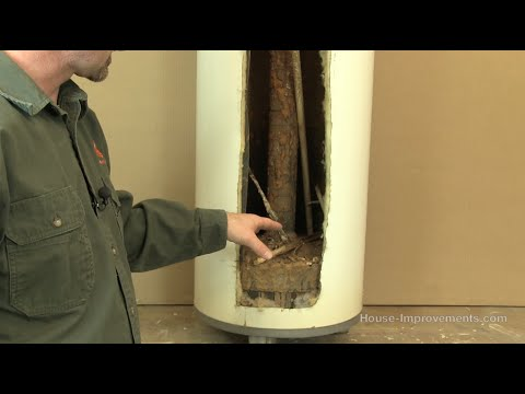 How A Water Heater Works [Cutaway View]