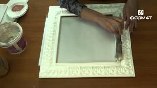 декоративная рамка для зеркала мастер-класс