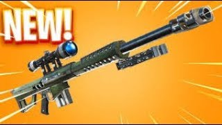Fortnite ITA Real victory with the new 50th-caliber sniper headshot with 370 damage