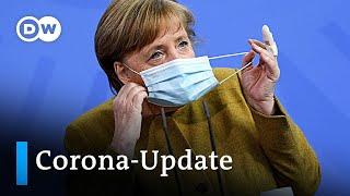 Coro-Update: Bundesweite Notbremse, Impfungen ab 55 & selten Blutgerinnsel bei J&J   DW Nachrichten