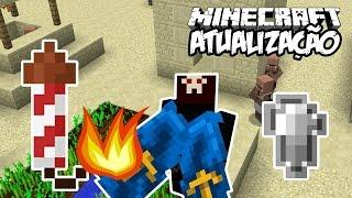 MINECRAFT FICOU 10x MELHOR! - Atualização de Minecraft (1.12)