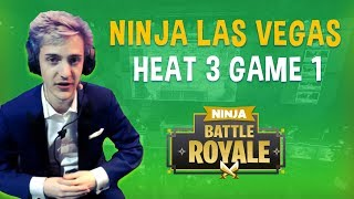 Ninja Las Vegas Heat 3 Game 1 - Fortnite Battle Royale Gameplay