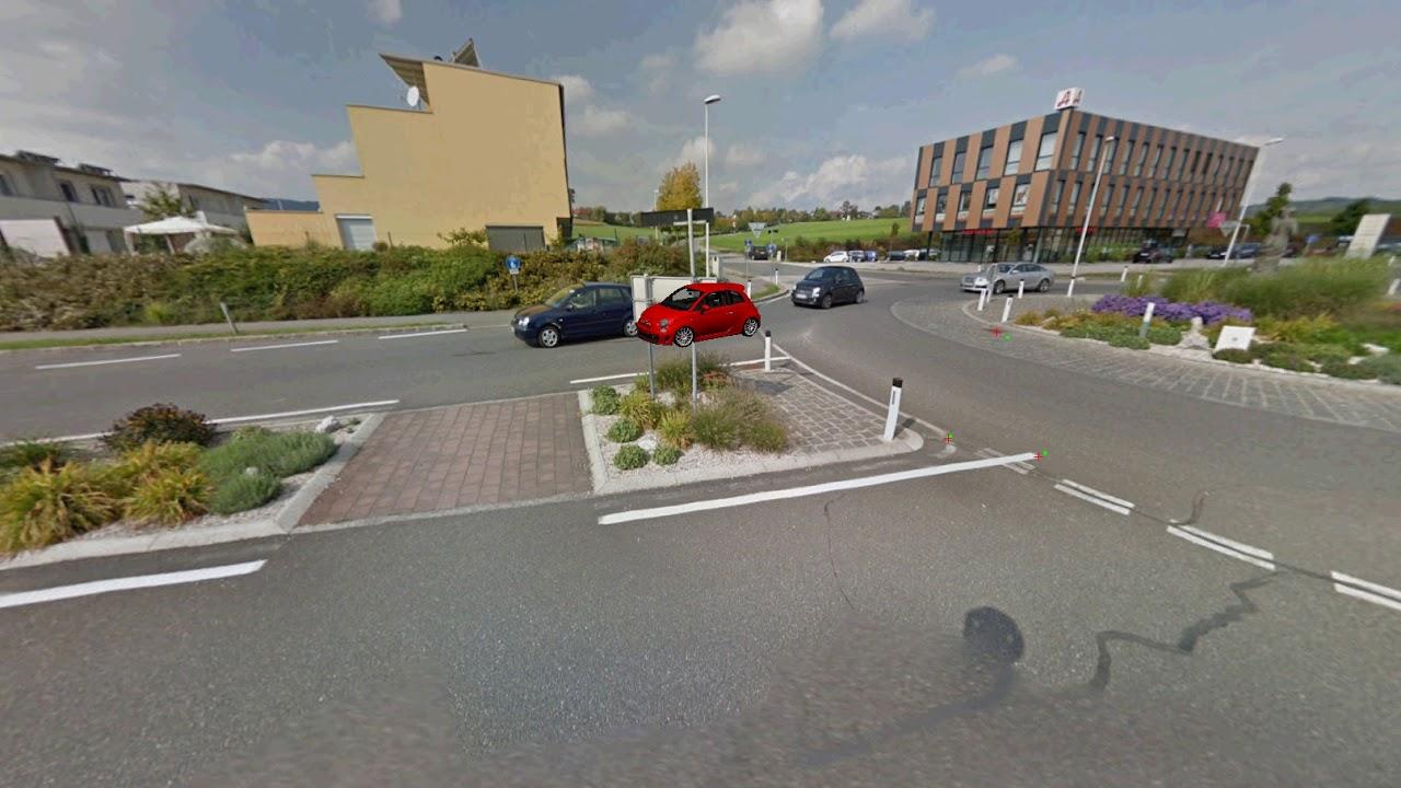 Fußgänger Kreisverkehr