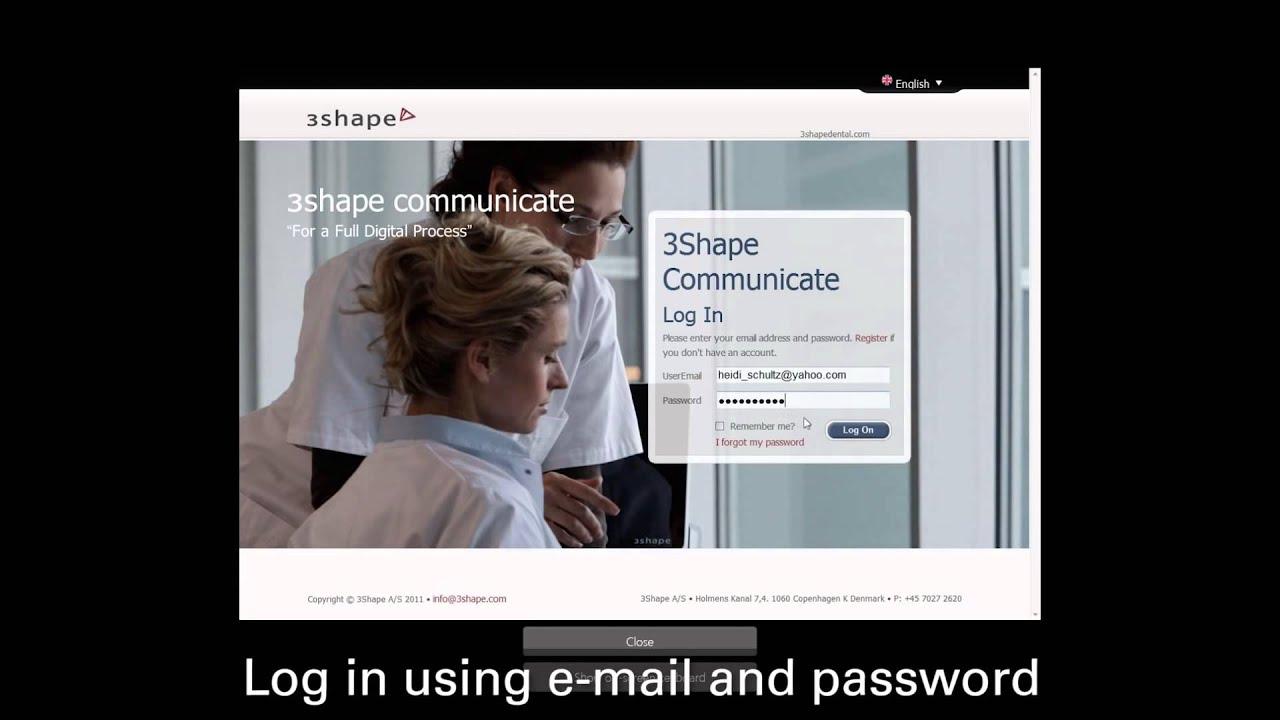 Dental System™ 2013 3Shape Communicate™