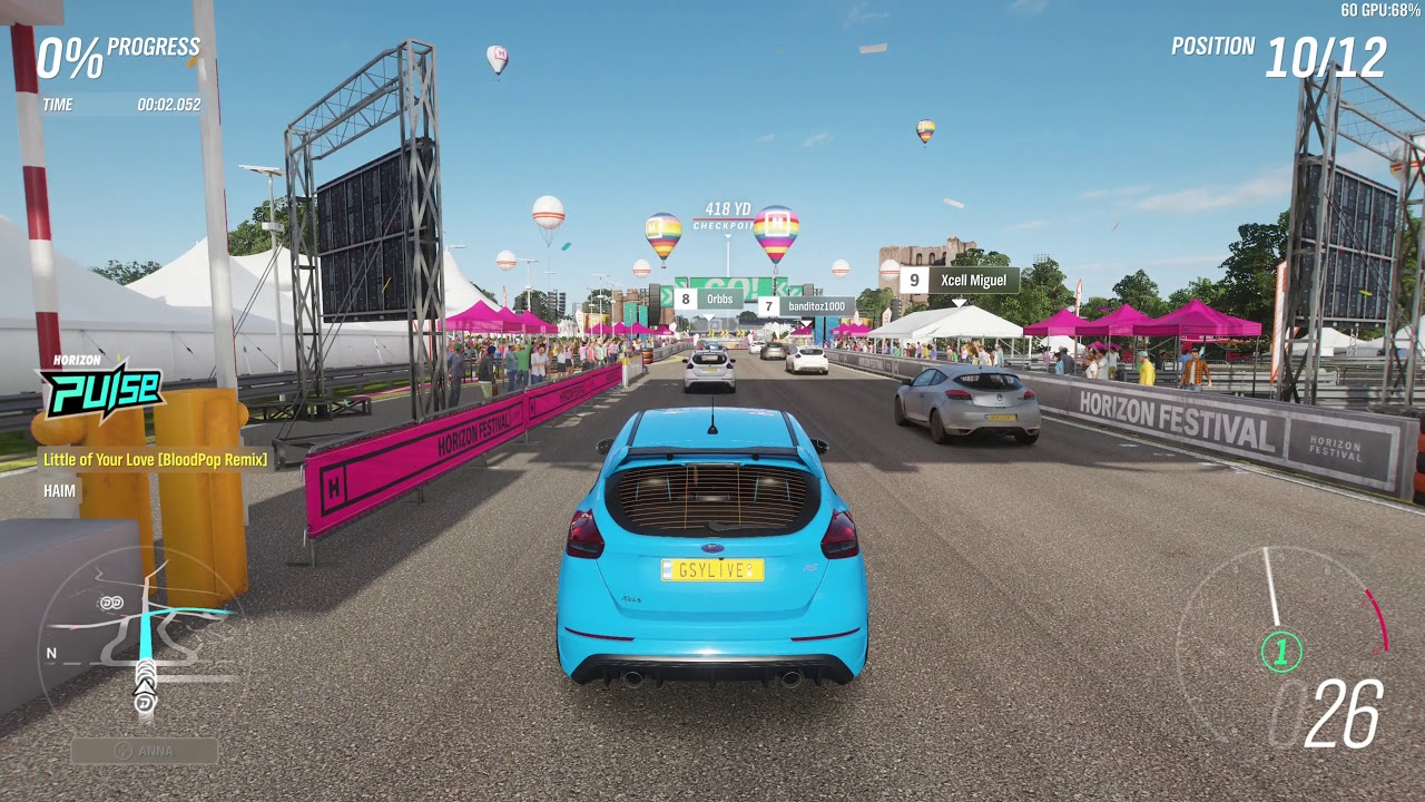 forza horizon 4 asphalt races pc demo 1440p max settings youtube. Black Bedroom Furniture Sets. Home Design Ideas