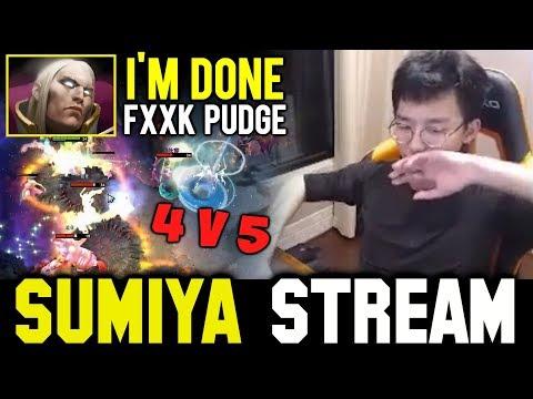Thats why Sumiya hate Pudge so much | Sumiya Invoker Stream Moment #538