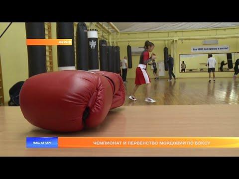 Чемпионат и первенство Мордовии по боксу