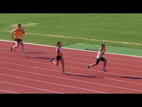 AACT 10th March 2018 100m - Chloe Smith 13.33 PB