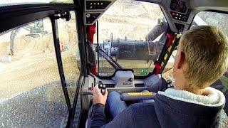 Volvo MCT 125C Skid-Steer Loader Test Drive
