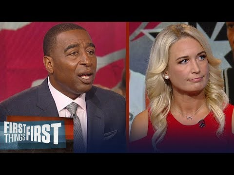 Sarah Kustok on how Kawhi's trade to Raptors will impact LeBron's Lakers | NBA | FIRST THINGS FIRST