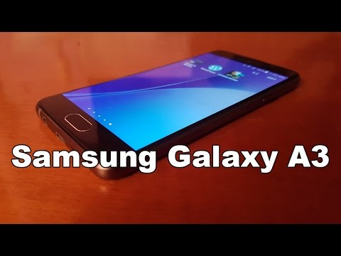 Samsung Galaxy A3 2016 Hands on Review [Greek]