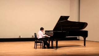 Bach French Suite III (Allemande) & Schubert Op 90 No 2 by Matthew Kaung