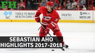 Sebastian Aho Highlights 2017-2018