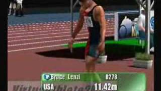 Virtua Athlete 2K - Dreamcast