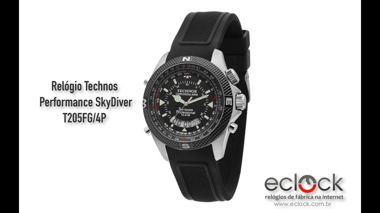 5c2bf5b23b8 Relógio Tecnhos Masculino Performance