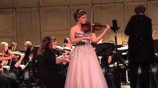 Madison Bemis Alton High School Symphonic Orchestra Arion Performance