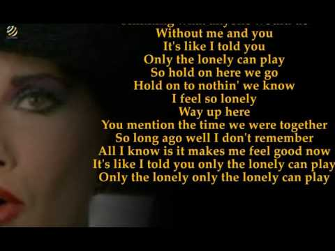 The Motels - Only The Lonely (Videolyric) [HQ]