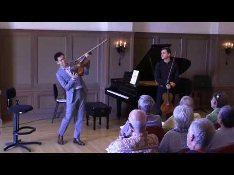 Richard O'Neill Viola Masterclass July 28, 2015