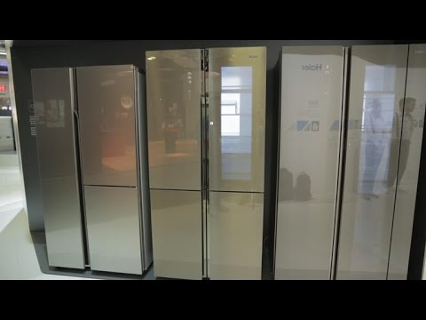 This see-through fridge is the coolest we've ever seen