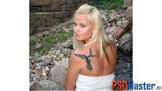 Как в фотошопе сделать татуировку