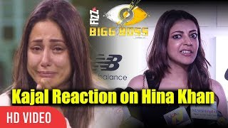 kajal agarwal reaction on hina khan comment on south indian actress bigg boss 11 controversy