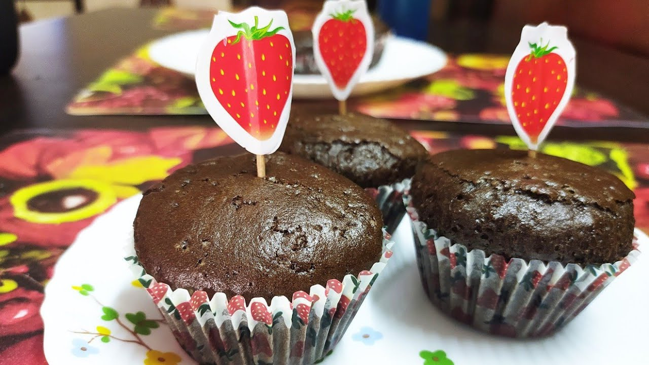 SUPER EASY !! CHOCOLATE MUFFINS | NO BEATER | NO BUTTER ...