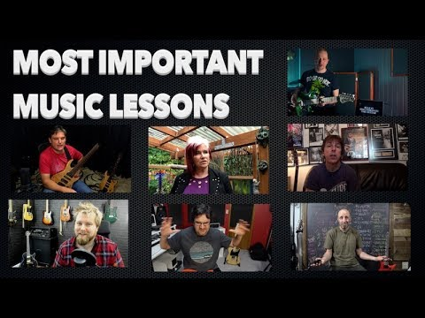 What Is The Most Important Music Lesson You Learned?