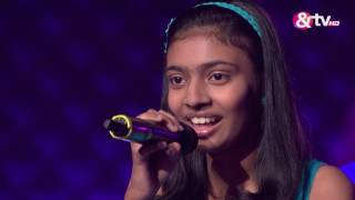 shrishti chakraborty blind audition episode 3 july 30 2016 the voice india kids