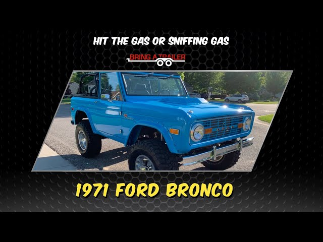 BAT Leno's TR6 Bid and a sweet 1971 Ford Bronco (HTGOSG#5)