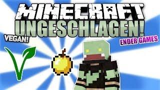 Vegane Runde + OP GOLDAPFEL! - Minecraft UNGESCHLAGEN #20 - Ender Games | ungespielt
