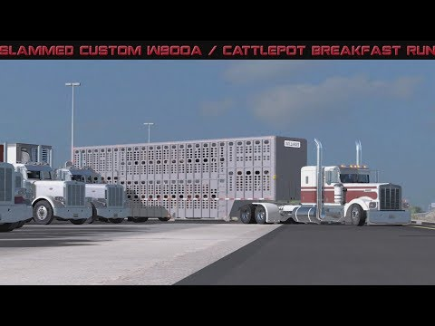 American Truck Simulator : Pilot Truckstop Breakfast Run