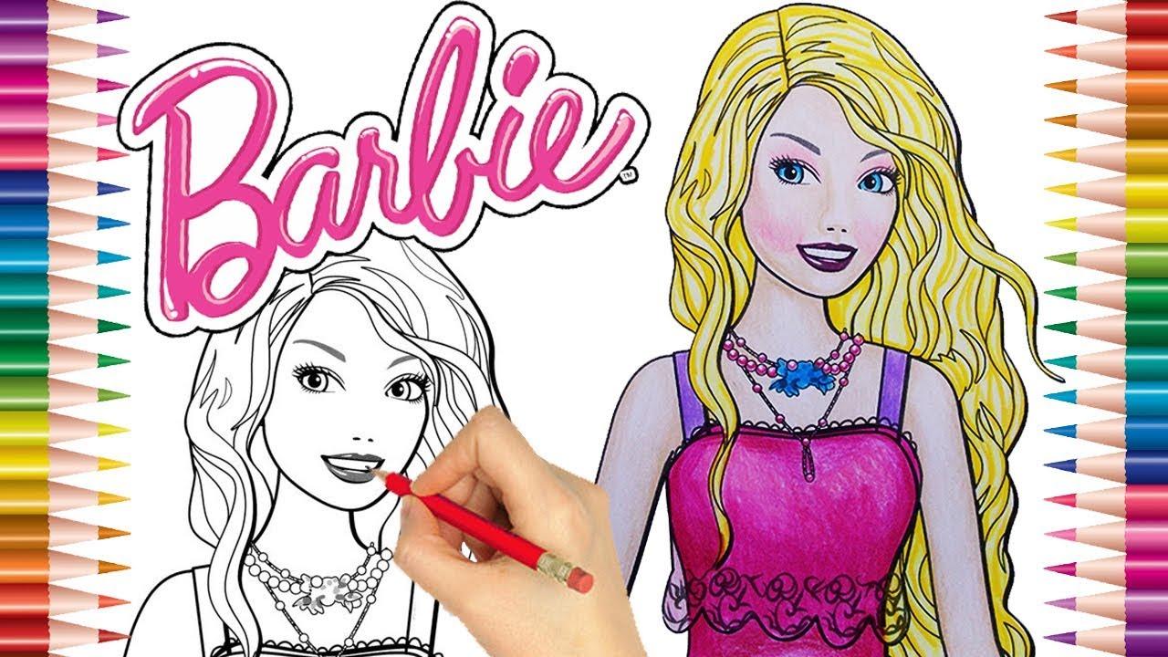 Desenho Da Barbie Para Pintar , Desenhos Para Imprimir E