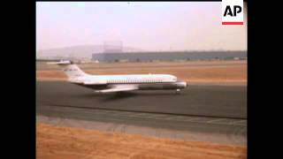 FIRST FLIGHT DOUGLAS D.C.9 JET TRANSPORT   - COLOUR - NO SOUND