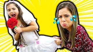 HELOÍSA QUER CASAR! как невеста и принцесса