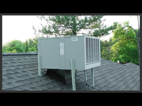 Swamp Cooler Motor Replacement Youtube