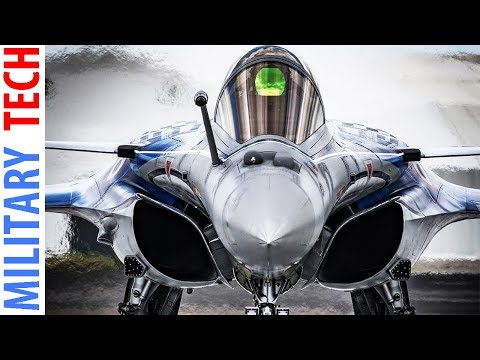 French Dassault Rafale Fighter In Action