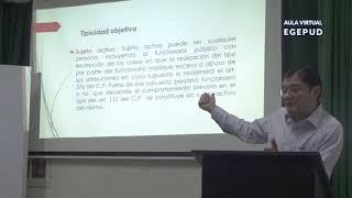 Coacción, Secuestro y Extorsión.  Dr.Jorge Chávez Cotrina