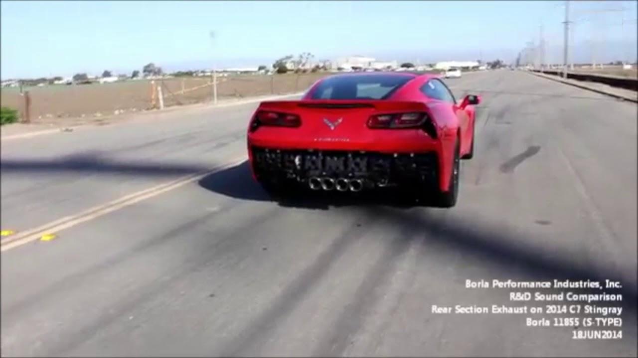 Borla S-Type Axleback | 2014-2018 Chevrolet Corvette | motorwise ca