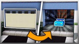 ✔️ Working GARAGE DOOR in Minecraft!