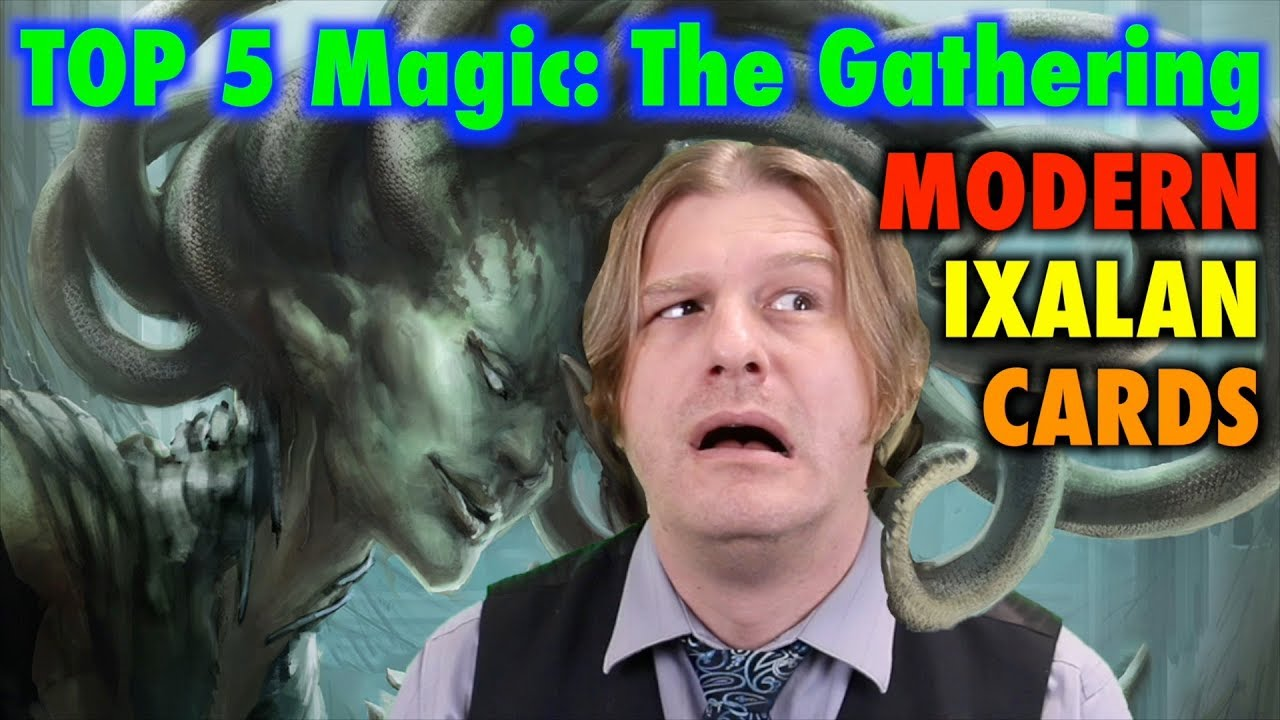 MTG - The Top 5 Best Modern Ixalan Cards for Magic: The