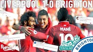 Liverpool v Brighton 1-0 | LFC Fan Reactions