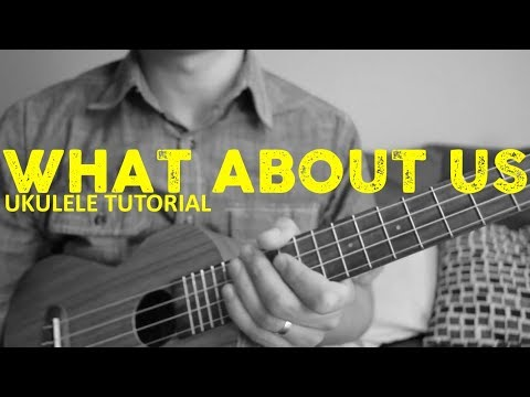 What About Us - Pink - EASY Ukulele Tutorial - Chords - How To Play